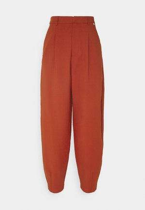 PANTS - Pantalon classique - rusty red