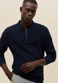 Mango - GRAVITY - Polo shirt - námořnická modrá - 0