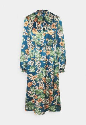 VIBLUME DRESS - Skjortekjole - china blue
