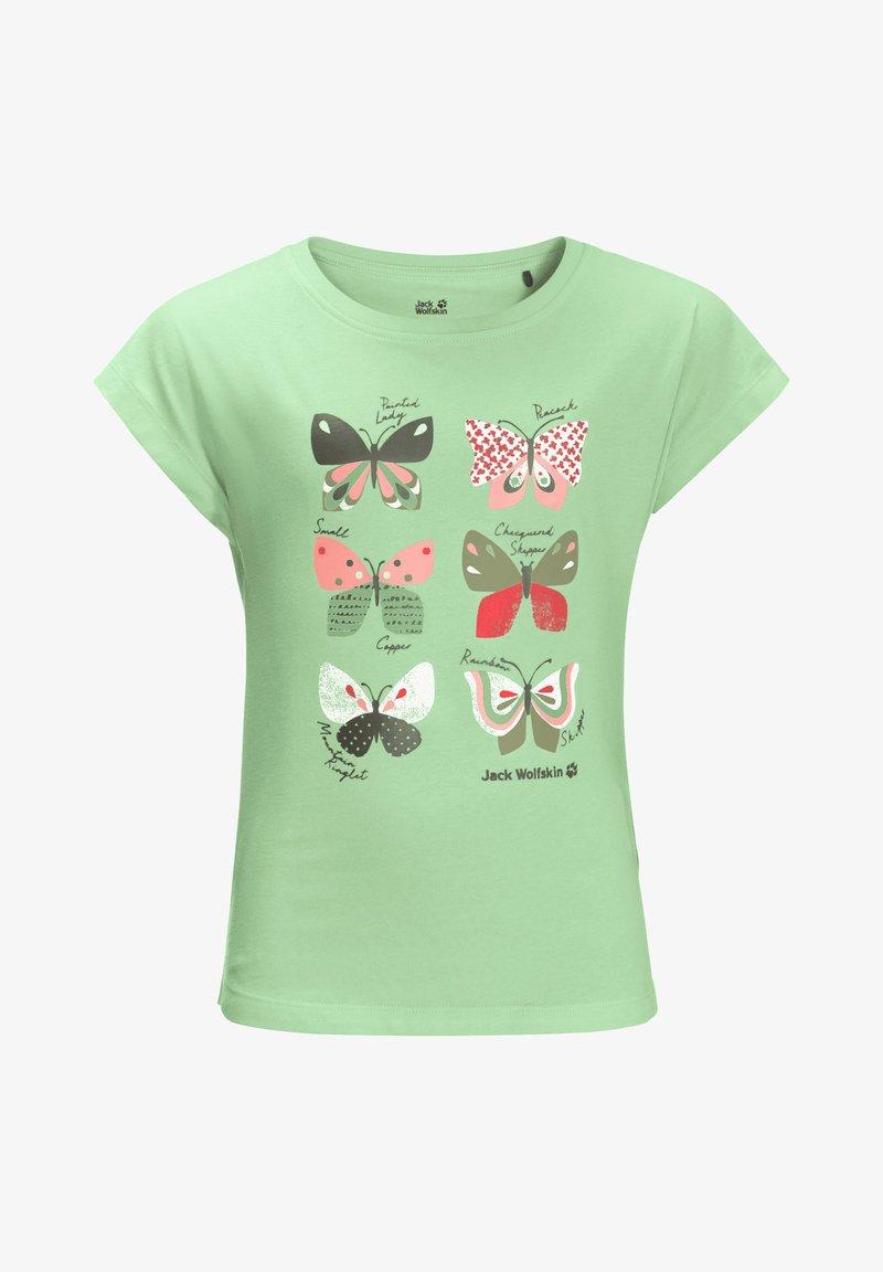 Jack Wolfskin - Print T-shirt - milky green