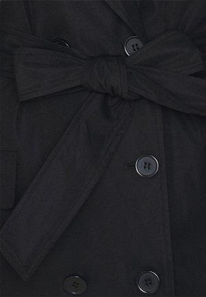 SHARP - Trenchcoat - black