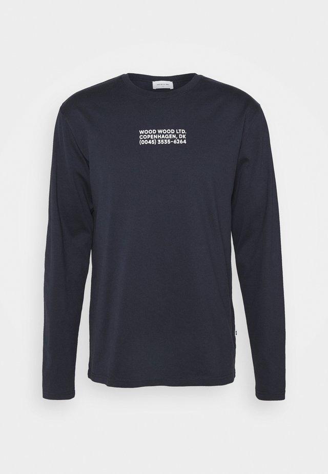 PETER - Långärmad tröja - navy