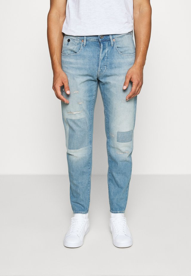 LOIC RELAXED TAPERED - Jeans relaxed fit - kara denim - vintage marine blue restored