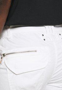 Mos Mosh - VALERINE PANT - Trousers - white - 5