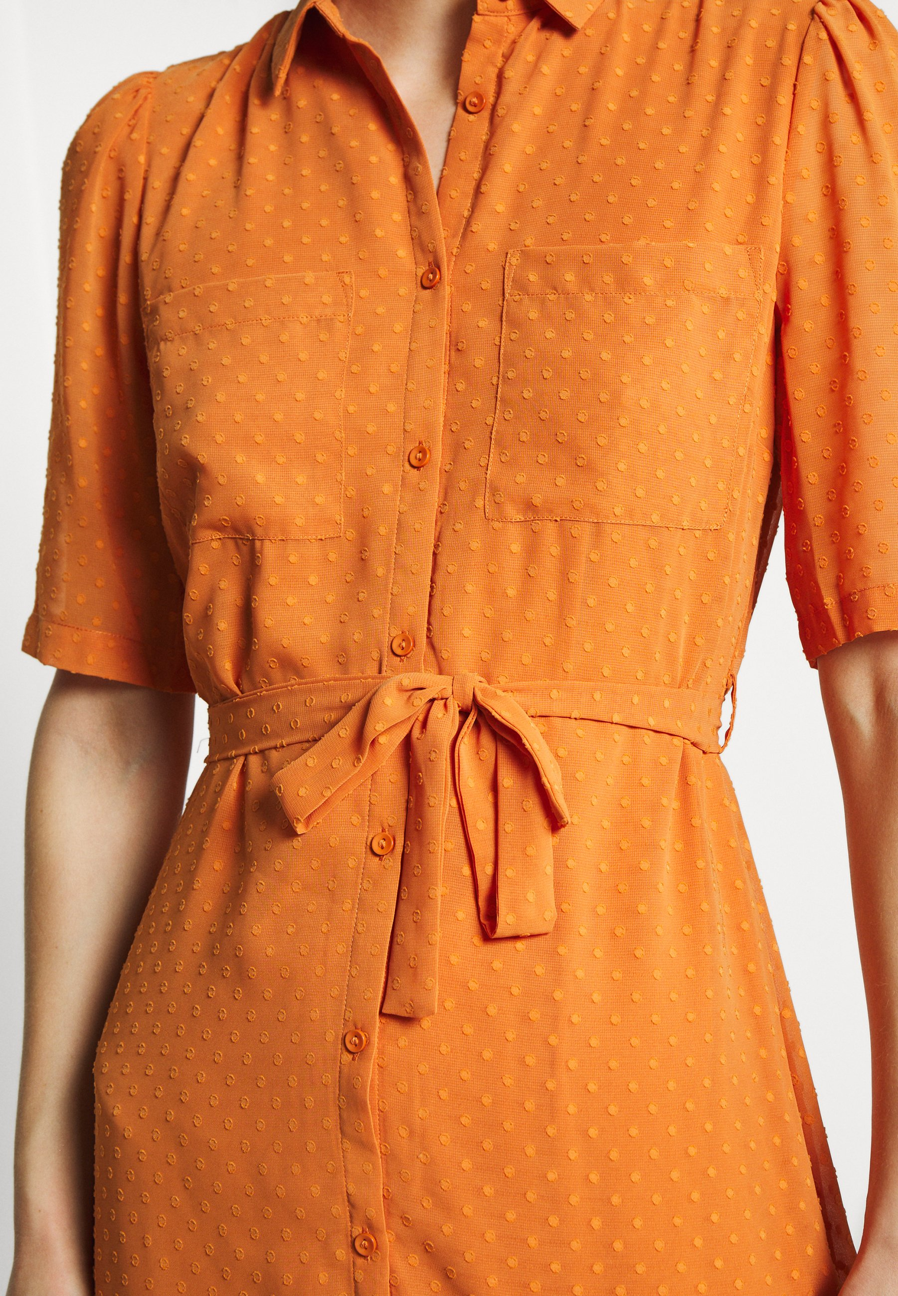 Another-Label SORBONNE DRESS - Robe chemise - apricot - Robes femme 9Hycd