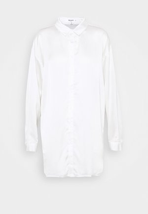 BASIC  - Button-down blouse - white