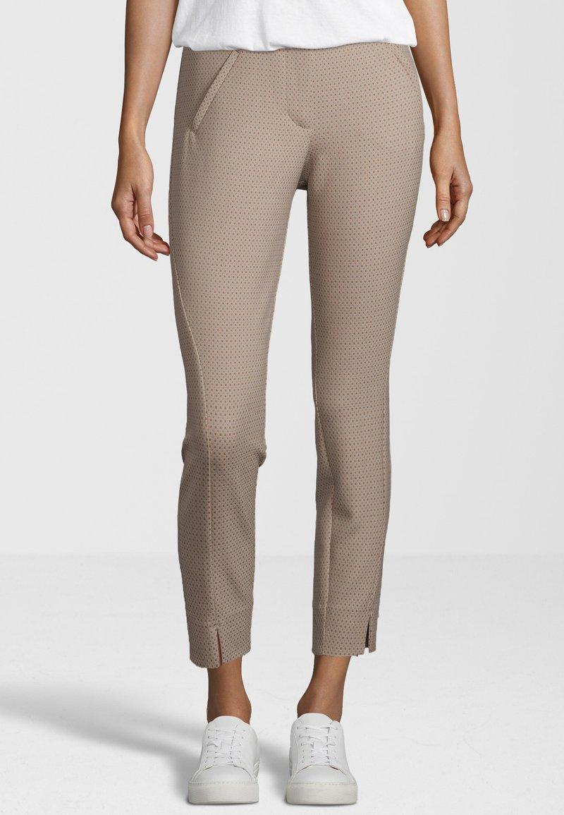 Fiveunits - HOSE ANGELIE SPLIT 717 - Trousers - beige