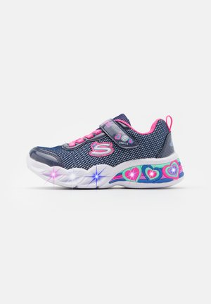 SWEETHEART LIGHTS - Trainers - navy/neon pink/multicolor