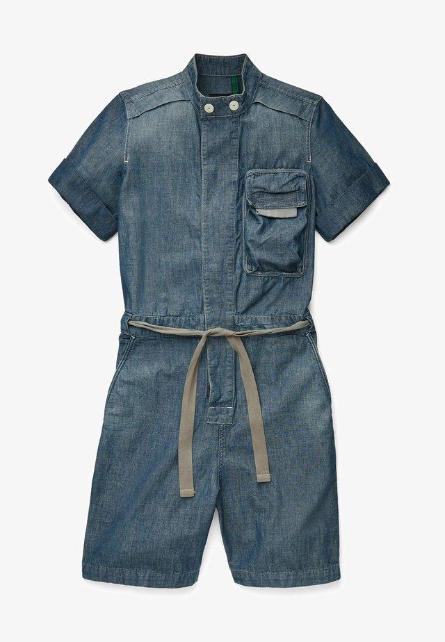WORKWEAR - Jumpsuit - antic faded aegean blue painted