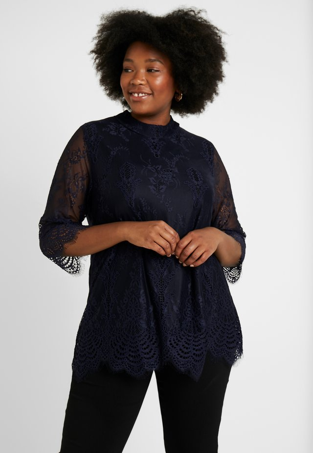 BLOUSE - Blouse - dark navy