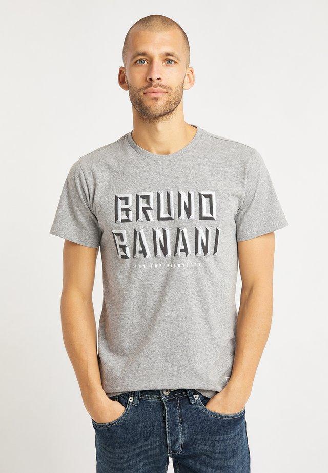T-shirts print - grau melange