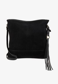 Anna Field - LEATHER - Bandolera - black