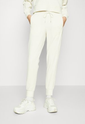 ICONIC PANTS - Tracksuit bottoms - ivory glow