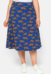 Sheego - A-line skirt - ultramarin - 0