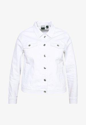 VMHOT SOYA JACKET - Denim jacket - bright white
