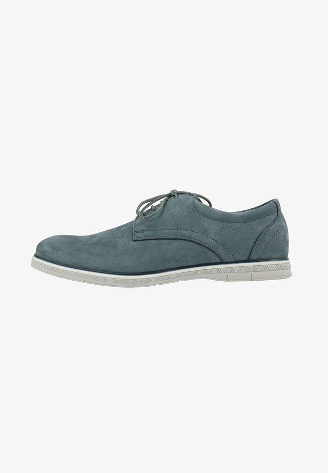 MARIO - Casual lace-ups - blau