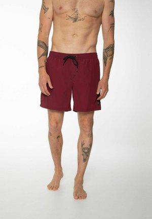 FASTER - Shorts da mare - dark cherry