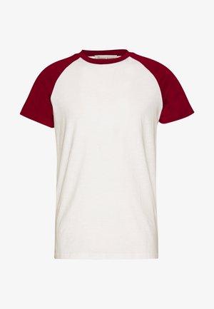 UNISEX SVEN - T-shirt med print - merlot
