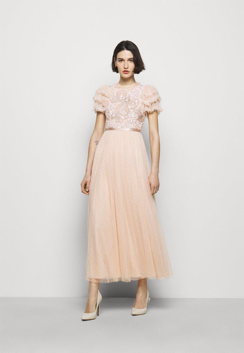 Needle & Thread - SHIRLEY RIBBON BODICE DRESS - Iltapuku - pink encore