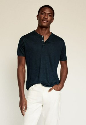 T-shirt basic - bleu marine