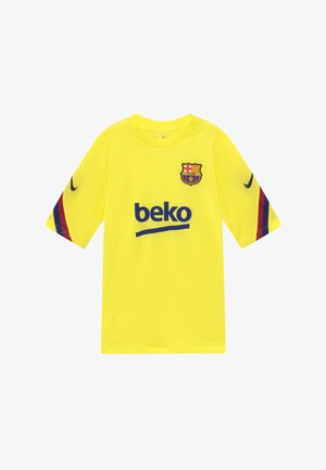 FC BARCELONA - Club wear - sonic yellow/sonic yellow/dark obsidian