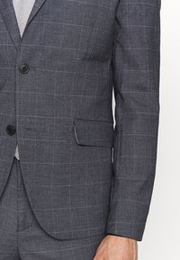 Lindbergh - CHECKED SUIT - Traje - grey check - 9