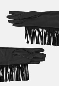 TWINSET - FRINGES GLOVES - Gloves - nero - 1