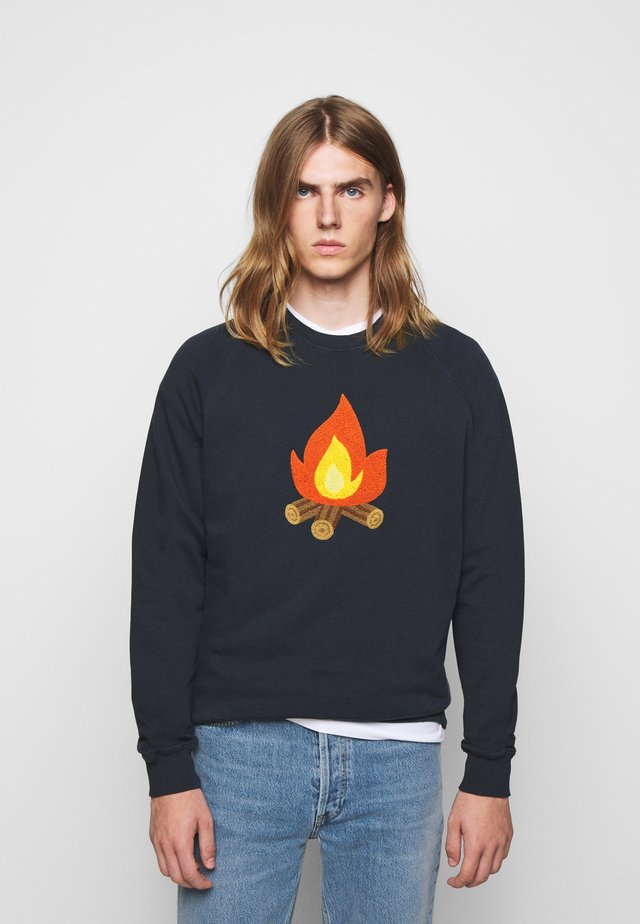 HEAT - Sweatshirt - navy
