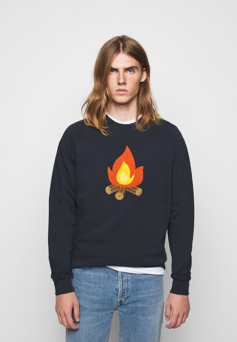 forét - HEAT - Sweatshirt - navy