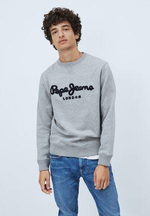 HAROLD - Sweatshirt - mottled grey