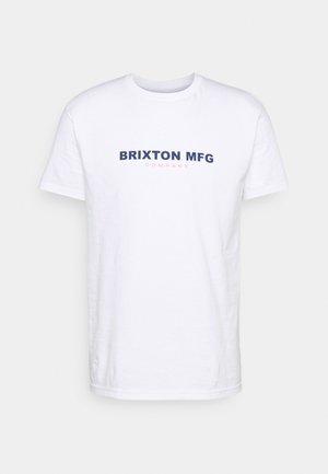 SIDEWINDER - Print T-shirt - white