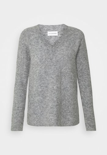 BIFORA - Svetr - medium grey melange