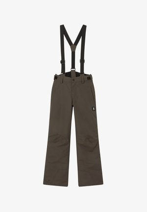 FOOTSTRAP LOGO BOYS - Snow pants - pine grey