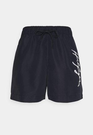 LOGO MEDIUM DRAWSTRING - Swimming shorts - blue