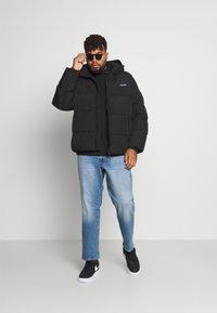 Calvin Klein - CRINKLE JACKET - Talvitakki - black - 1