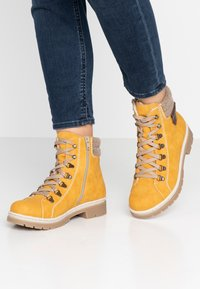 Rieker - Lace-up ankle boots - honig/wood/kastanie - 0