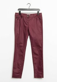 TOM TAILOR - Trousers - pink - 0