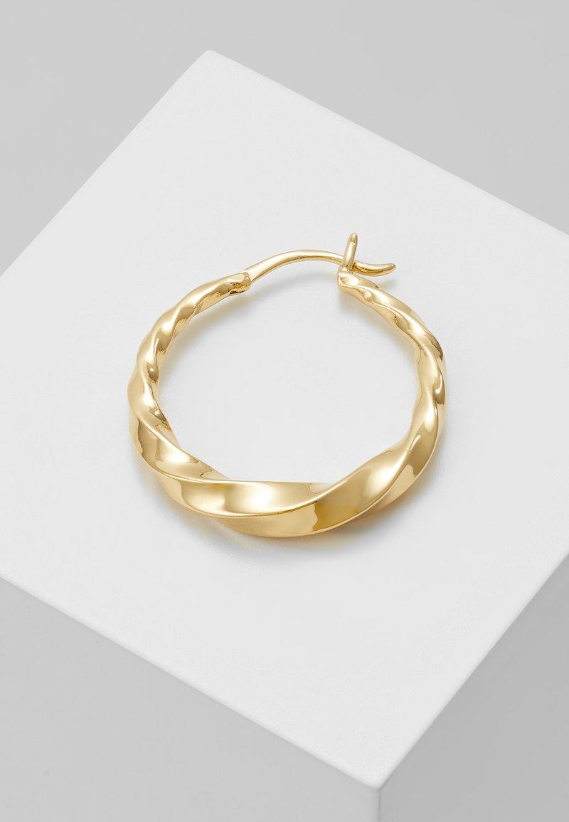 Maria Black - SADIE HOOP EARRING - Earrings - gold-coloured