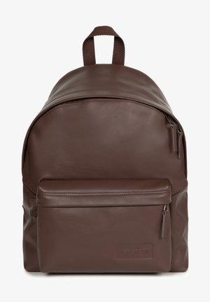 PADDED PAK'R - Rucksack - brown authentic leather
