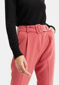 WE Fashion - Trousers - pink - 3
