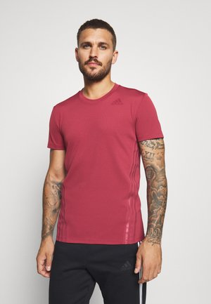 AEROREADY TRAINING SLIM SHORT SLEEVE TEE - Print T-shirt - legred