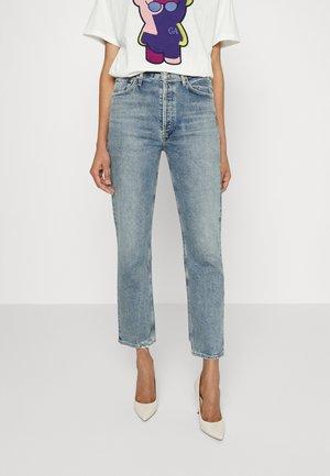 SABINE IN DRESDEN - Straight leg jeans - blue denim