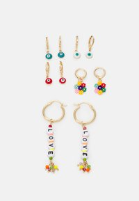 Fire & Glory - EARRINGS 5 PACK - Earrings - gold-coloured - 0