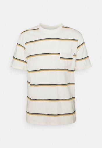 BOBBY STRIPE - Print T-shirt - offwhite