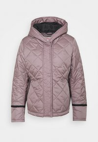 Hunter ORIGINAL - WOMENS REFINED QUILTED JACKET - Light jacket - atlantis - 0