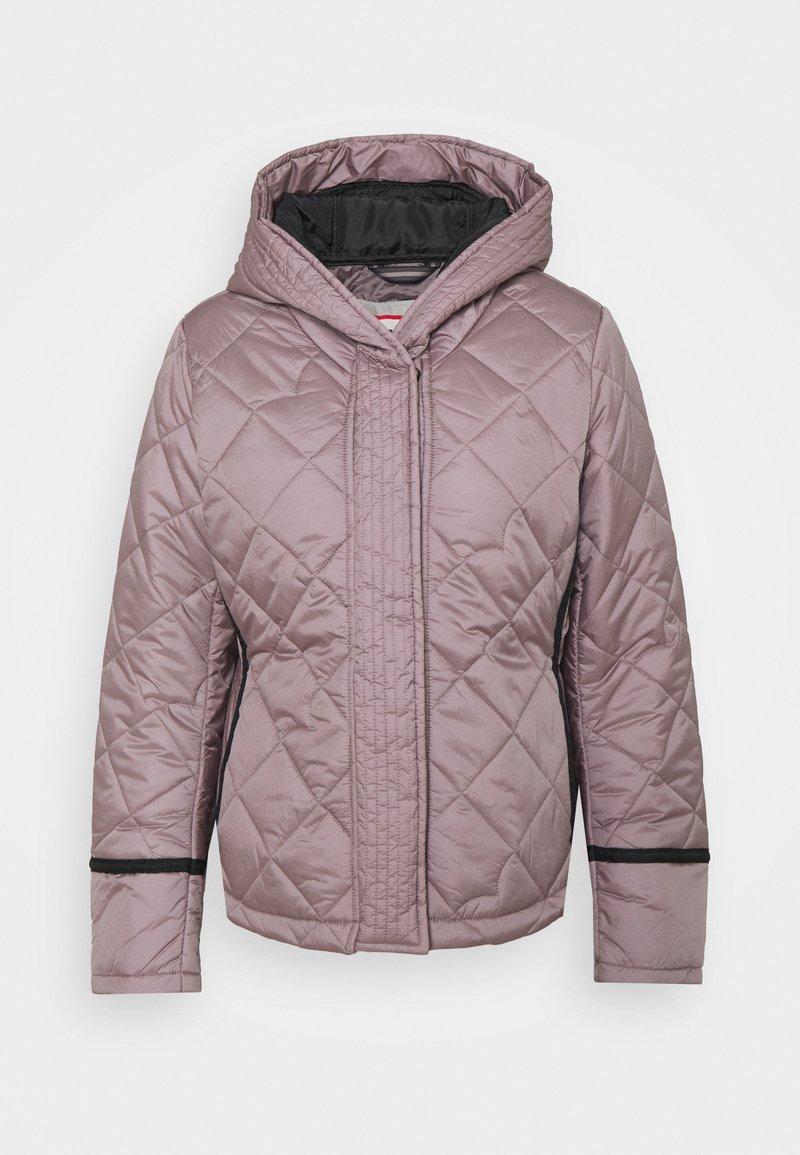 Hunter ORIGINAL - WOMENS REFINED QUILTED JACKET - Light jacket - atlantis