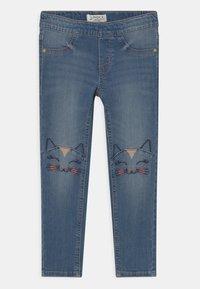 Lindex - MINI TROUSERS MARTINA - Jeans Skinny Fit - blue denim - 0