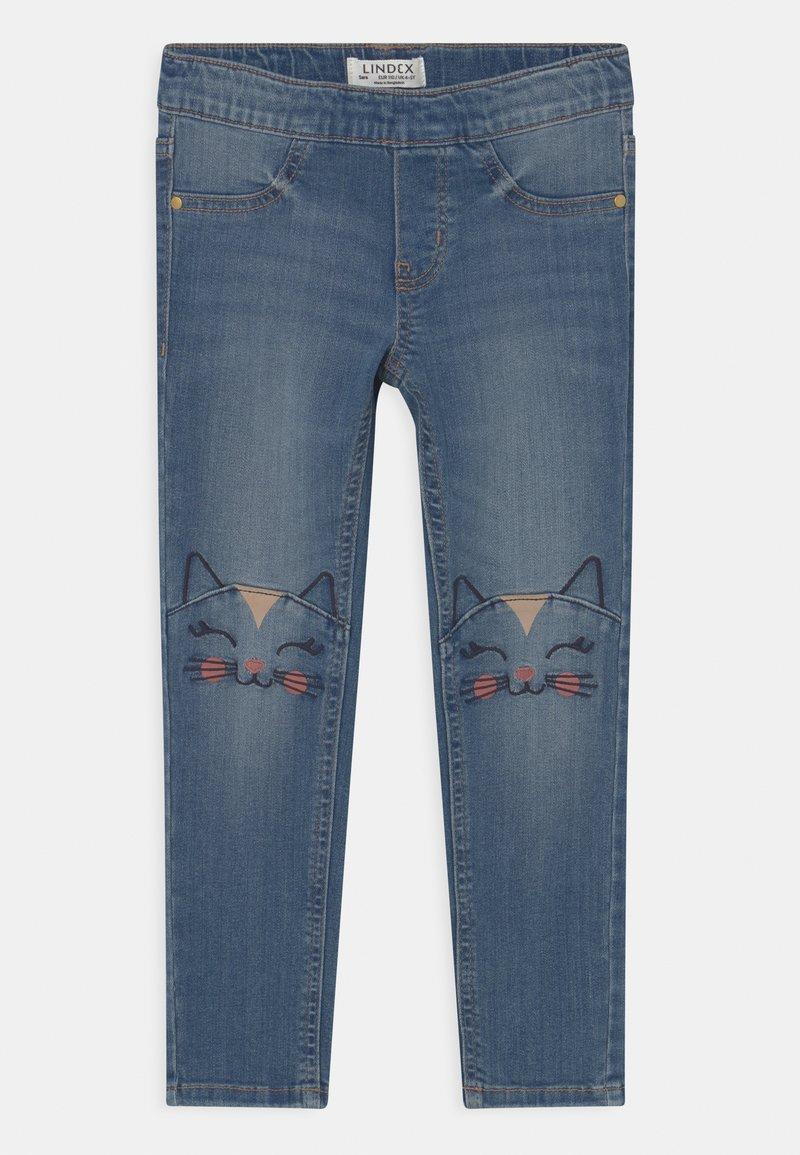 Lindex - MINI TROUSERS MARTINA - Jeans Skinny Fit - blue denim