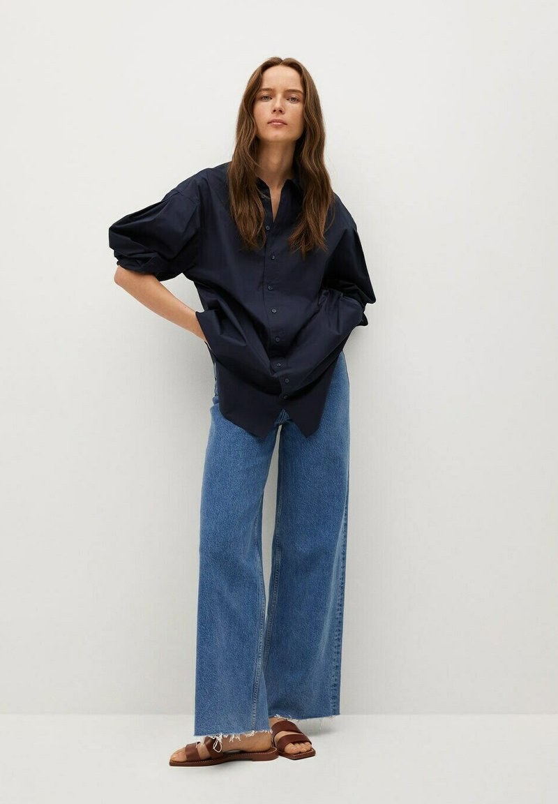 Mango - LUISA A - Button-down blouse - donkermarine