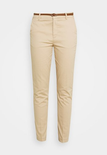 DAYS CIGARET - Trousers - camel